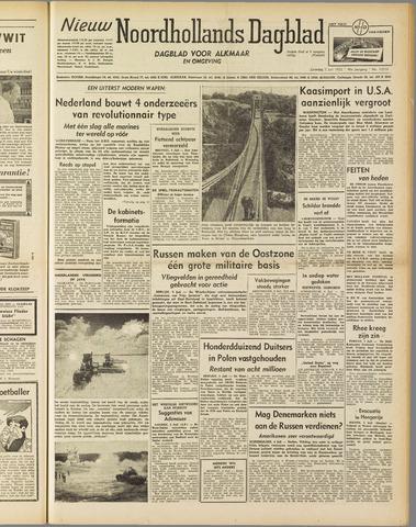 Nieuw Noordhollandsch Dagblad : voor Alkmaar en omgeving 1952-07-05