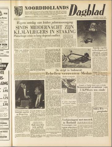 Noordhollands Dagblad : dagblad voor Alkmaar en omgeving 1958-03-17