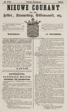 Nieuwe Courant van Den Helder 1864-12-14