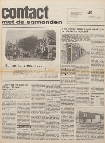 Contact met de Egmonden 1980-03-19