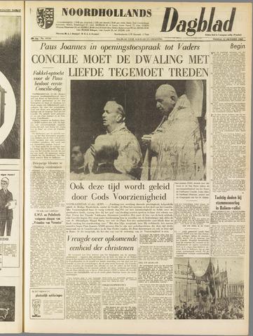 Noordhollands Dagblad : dagblad voor Alkmaar en omgeving 1962-10-12