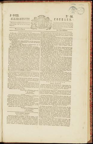 Alkmaarsche Courant 1853-11-14