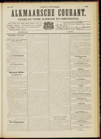 Alkmaarsche Courant 1909-06-01