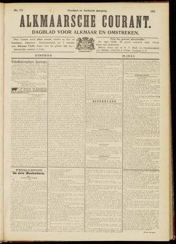 Alkmaarsche Courant 1911-07-25