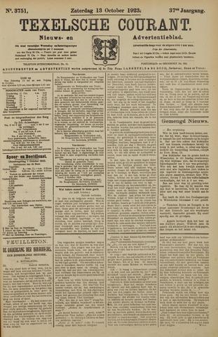 Texelsche Courant 1923-10-13