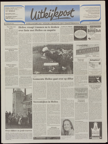 Uitkijkpost : nieuwsblad voor Heiloo e.o. 2000-02-09