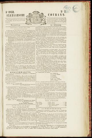 Alkmaarsche Courant 1853-02-14
