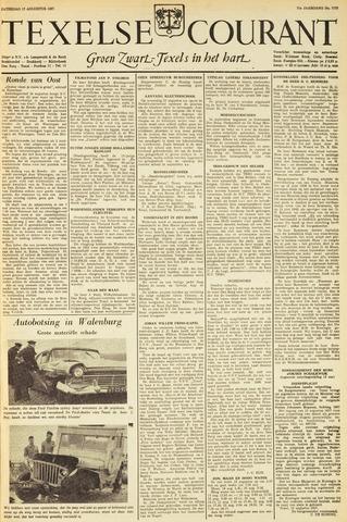 Texelsche Courant 1957-08-17