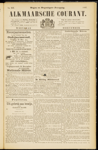 Alkmaarsche Courant 1897-12-22