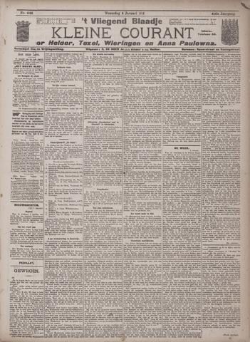 Vliegend blaadje : nieuws- en advertentiebode voor Den Helder 1913-01-08