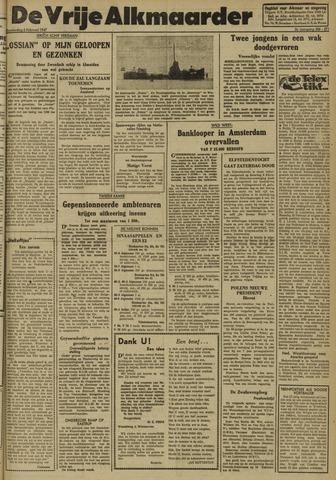 De Vrije Alkmaarder 1947-02-06