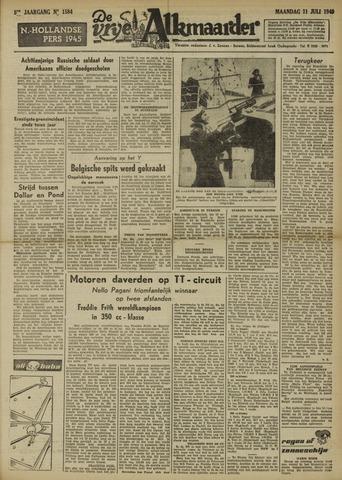 De Vrije Alkmaarder 1949-07-11