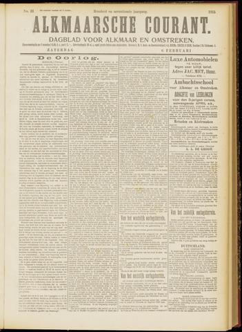 Alkmaarsche Courant 1915-02-06