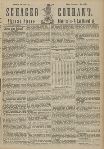 Schager Courant 1911-06-13