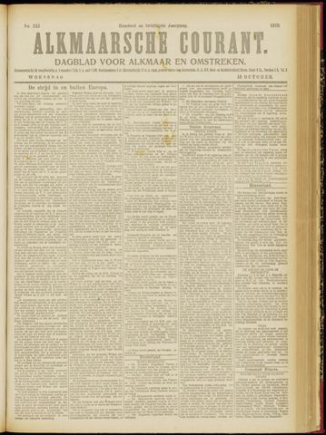 Alkmaarsche Courant 1918-10-16