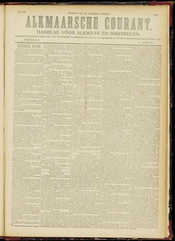Alkmaarsche Courant 1919-04-08