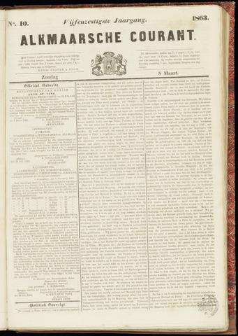 Alkmaarsche Courant 1863-03-08