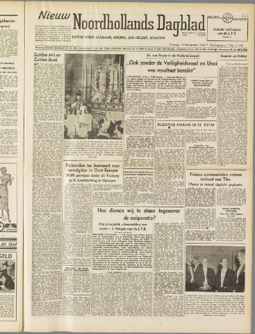 Nieuw Noordhollandsch Dagblad : voor Alkmaar en omgeving 1949-12-13