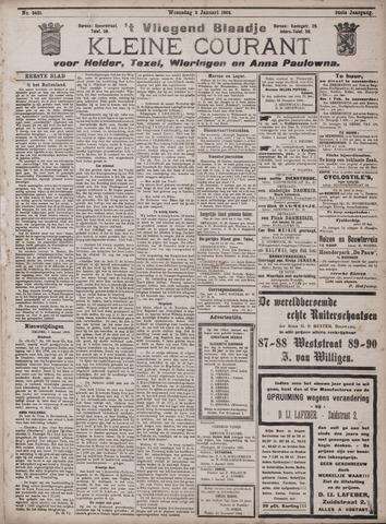 Vliegend blaadje : nieuws- en advertentiebode voor Den Helder 1906-01-03