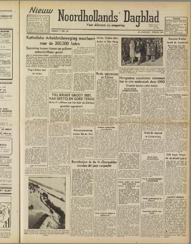 Nieuw Noordhollandsch Dagblad : voor Alkmaar en omgeving 1947-06-17