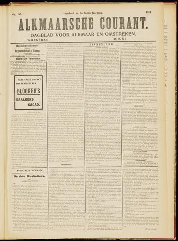 Alkmaarsche Courant 1911-06-28