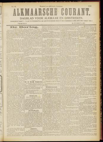 Alkmaarsche Courant 1916-02-18