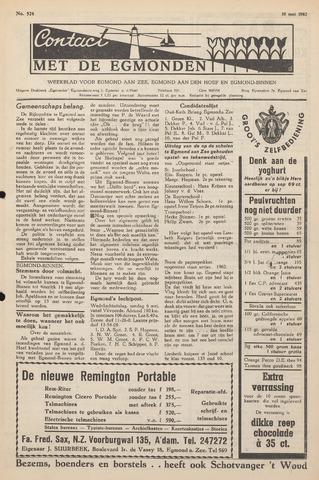 Contact met de Egmonden 1962-05-10