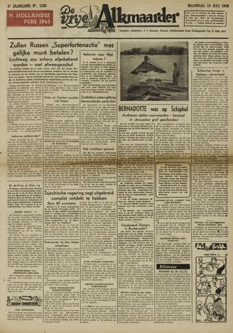 De Vrije Alkmaarder 1948-07-19