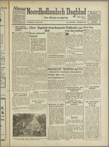 Nieuw Noordhollandsch Dagblad : voor Alkmaar en omgeving 1946-05-29