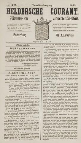 Heldersche Courant 1872-08-31