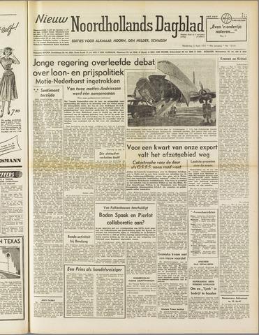 Nieuw Noordhollandsch Dagblad : voor Alkmaar en omgeving 1951-04-05