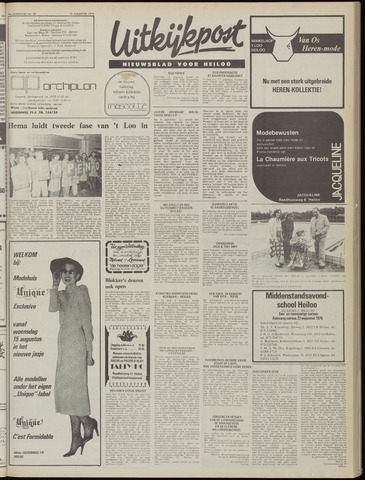 Uitkijkpost : nieuwsblad voor Heiloo e.o. 1979-08-15