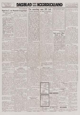 Dagblad Noord-Holland, Schager editie 1944-09-11