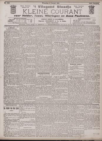 Vliegend blaadje : nieuws- en advertentiebode voor Den Helder 1904-01-27