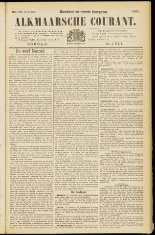 Alkmaarsche Courant 1902-07-20