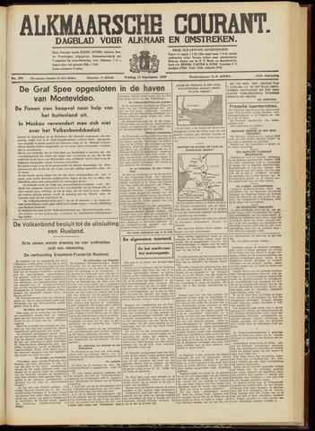 Alkmaarsche Courant 1939-12-15