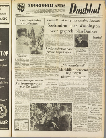 Noordhollands Dagblad : dagblad voor Alkmaar en omgeving 1962-07-17