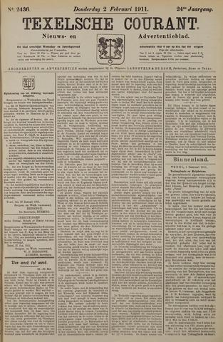 Texelsche Courant 1911-02-02