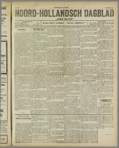 Ons Blad : katholiek nieuwsblad voor N-H 1922-04-20