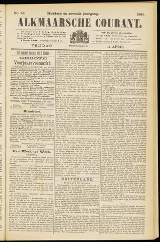 Alkmaarsche Courant 1905-04-14