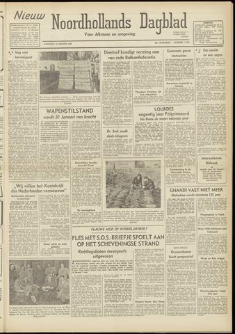 Nieuw Noordhollandsch Dagblad : voor Alkmaar en omgeving 1948-01-19