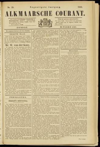 Alkmaarsche Courant 1888-02-26