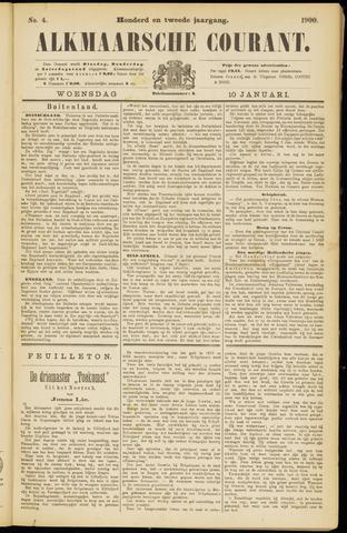 Alkmaarsche Courant 1900-01-10