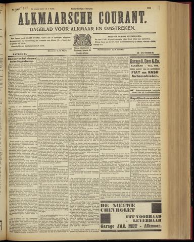 Alkmaarsche Courant 1928-10-13
