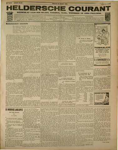 Heldersche Courant 1931-03-31
