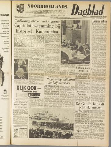 Noordhollands Dagblad : dagblad voor Alkmaar en omgeving 1962-09-07