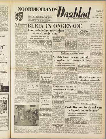 Noordhollands Dagblad : dagblad voor Alkmaar en omgeving 1953-07-10