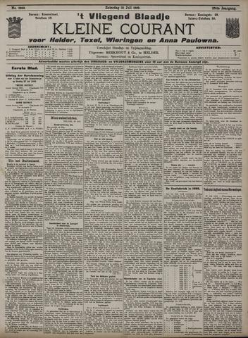 Vliegend blaadje : nieuws- en advertentiebode voor Den Helder 1909-07-31