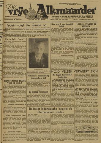 De Vrije Alkmaarder 1946-01-24