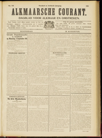 Alkmaarsche Courant 1911-08-23
